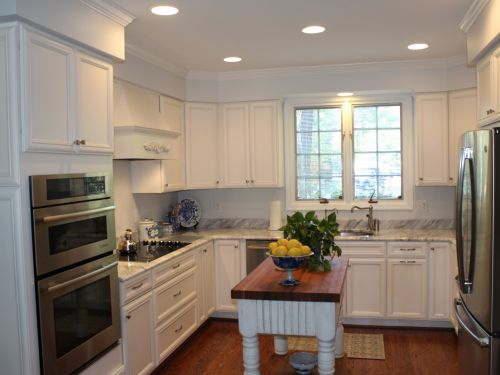 Remodeled kitchen after image