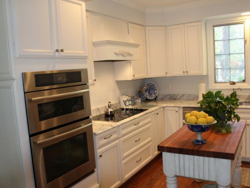 Kitchen remodeling after image