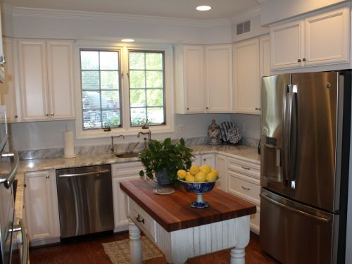 Beautiful kitchen interior after a remodel