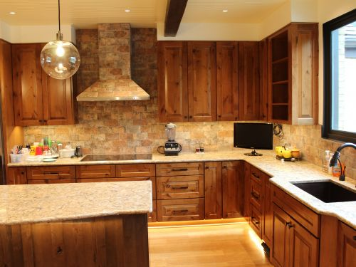 Finished kitchen remodeling project
