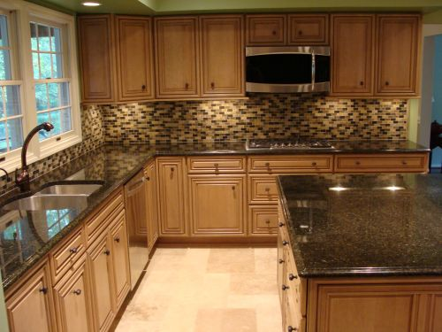 Remodeled kitchen interior