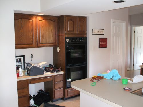 Kitchen before image
